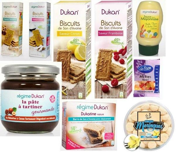 продукты для диеты дюкана купить недорого