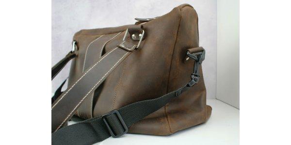 чоловіча сумка зі шкіри
