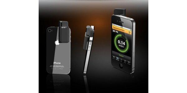 дозиметр радіації для смартфона